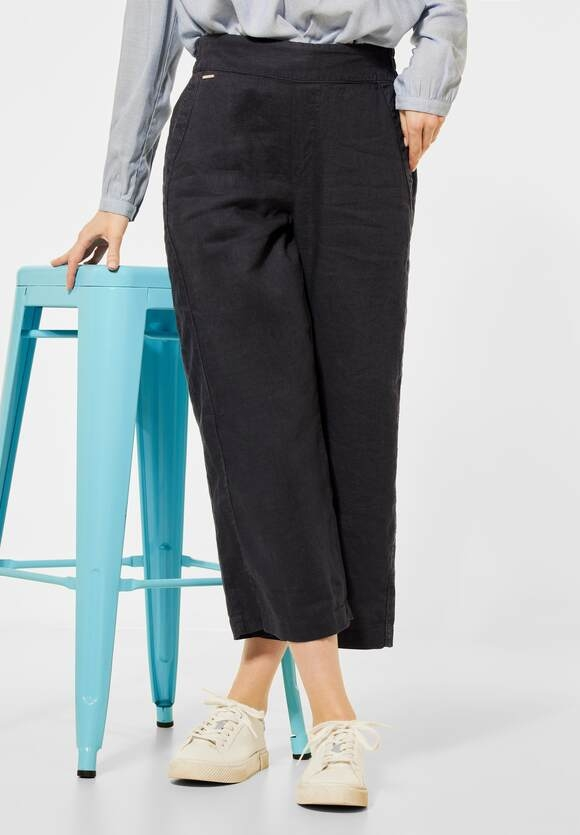 """Street One   Loose Fit """"Emee"""" mit Wide Leg   Farbe: magnet grey 12820, 373906"""
