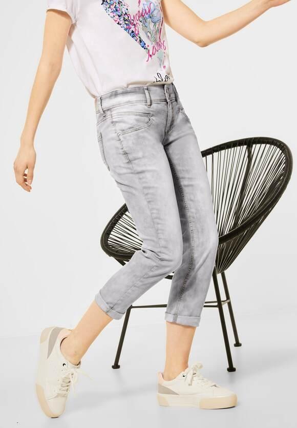 "Street One   Casual Fit ""Jane"" in grau   Farbe: summer grey 13142, 374066"