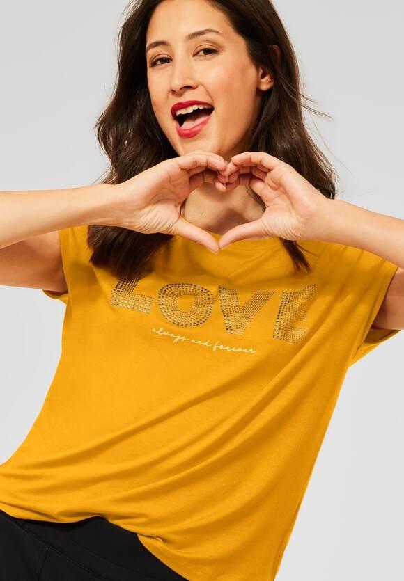 Street One | T-Shirt mit Aufschrift | Farbe: sulphur yellow 33165, 316656