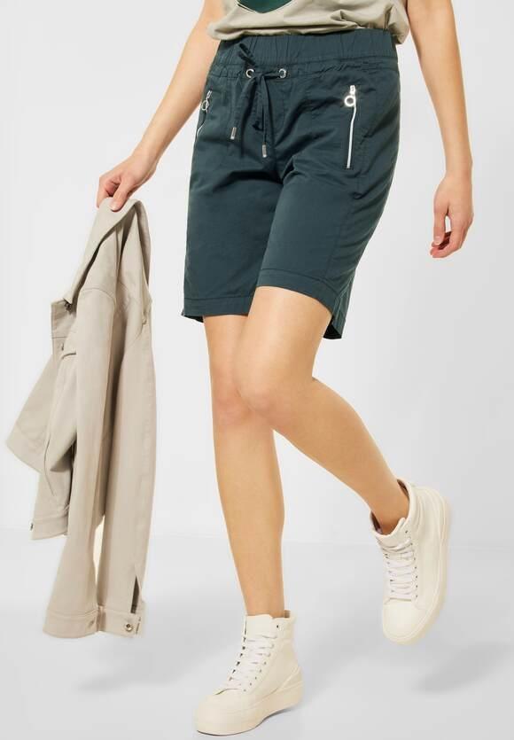 "Street One   Bermuda Shorts ""Bonny"" in Unifarbe   Farbe: spruce green 13102, 374155"