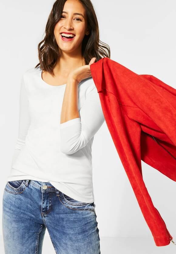 "Street One | Doppelfront-Shirt ""Lanea"" | Farbe: off white 10108, 314151"