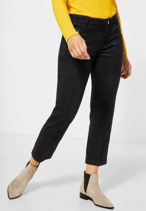 "Street One | Velours-Hose ""Tilly"" 