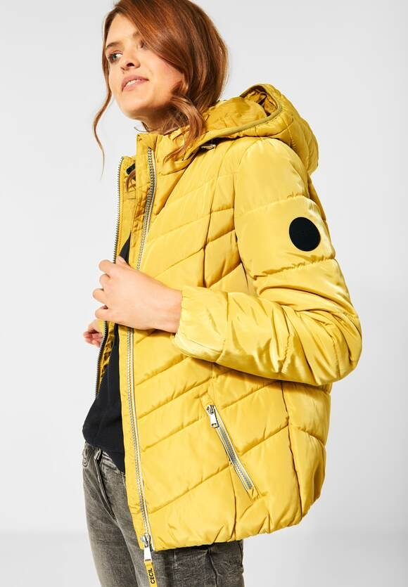 Cecil | Gesteppte Jacke | Farbe: amber glow gold 12222, 201480