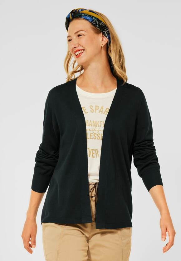 Street One   Leichter Cardigan   Farbe: endless green 12508, 253236