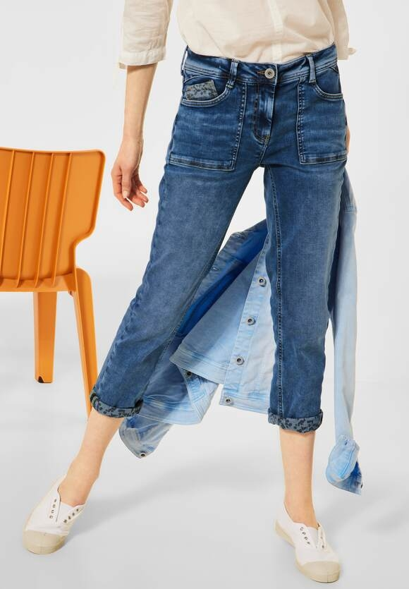 "Cecil | Loose Fit ""Scarlett"" in 7/8-Länge 