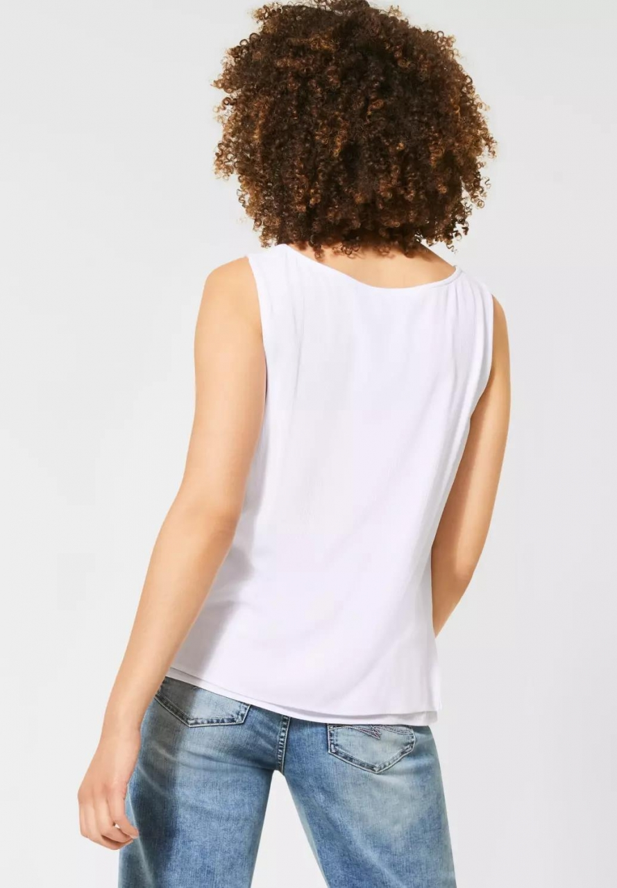 Street One | Top im Lagen-Look | Farbe: white 10000, 315023