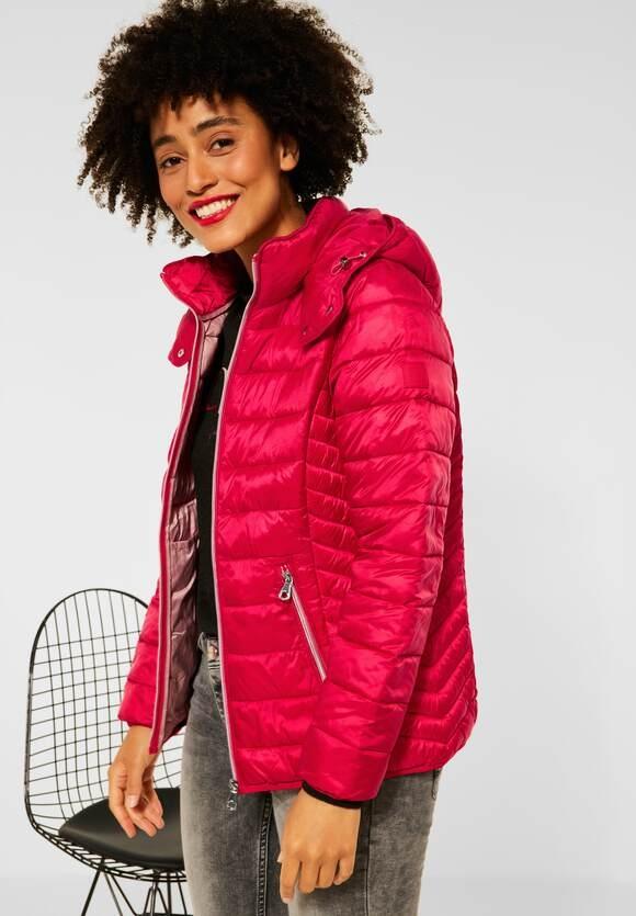 Street One   Outdoor Jacke mit Kapuze   Farbe: fabulous red 12967, 201616