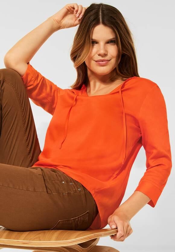 CECIL   Bluse in Unifarbe   Farbe: smoked paprika orange 13278, 342825