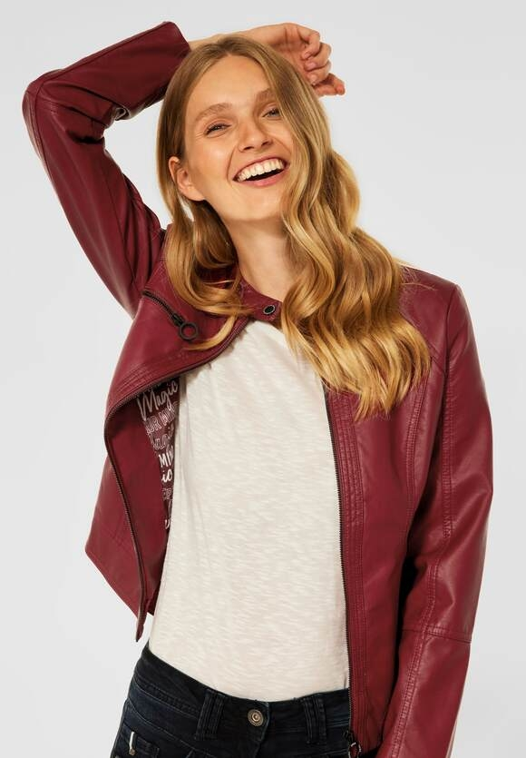 CECIL   PU Indoor Jacke   Farbe: copper brown 13160, 211445