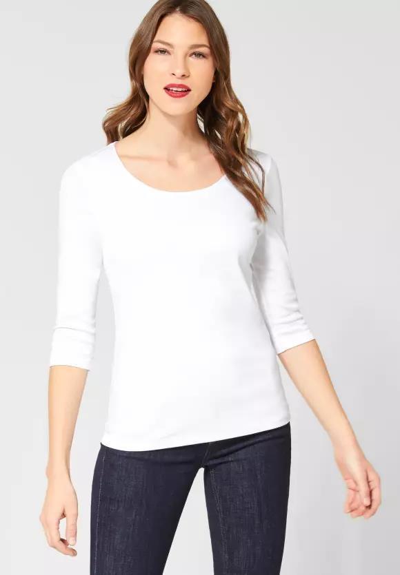 Street One I Basic Shirt Pania I Farbe: white 10000, 313977