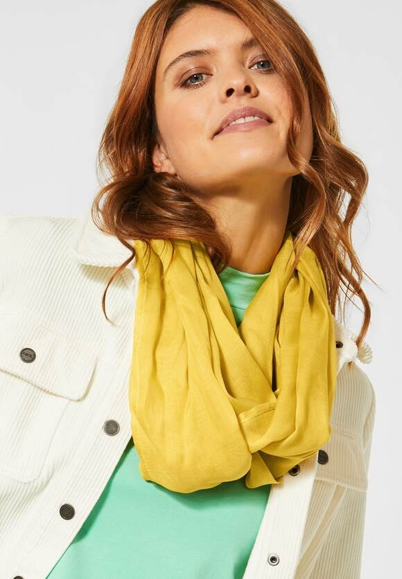 Cecil | Zarter Loop im Basic Style | Farbe: amber glow gold 12222, 571349