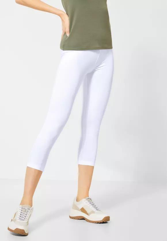 Cecil | Leggings im Basic Style | Farbe: white 10000, 373073