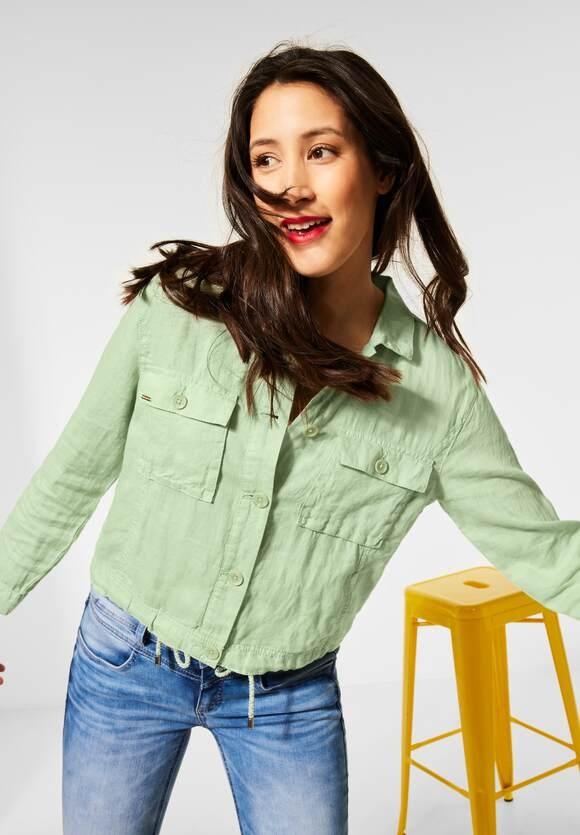 Street One | Indoor Jacke mit Taschen | Farbe: light green 12850, 211352