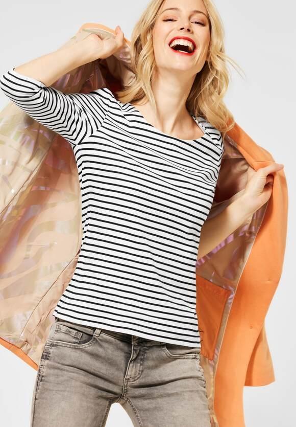 """Street One   Shirt mit Streifen """"Hanya""""   Farbe: off white 20108, 315966"""