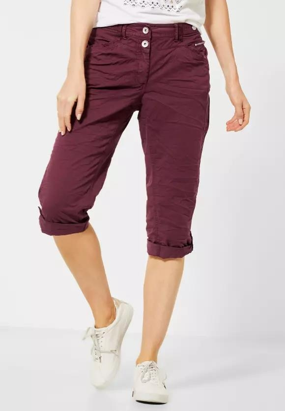 Cecil | 3/4 Hose im Colour-Style | Farbe: jostaberry red 12358, 373013