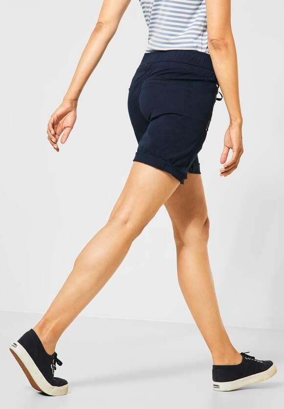 "Street One | Bermuda Shorts ""Bonny"" | Farbe: deep blue 11238, 373281"