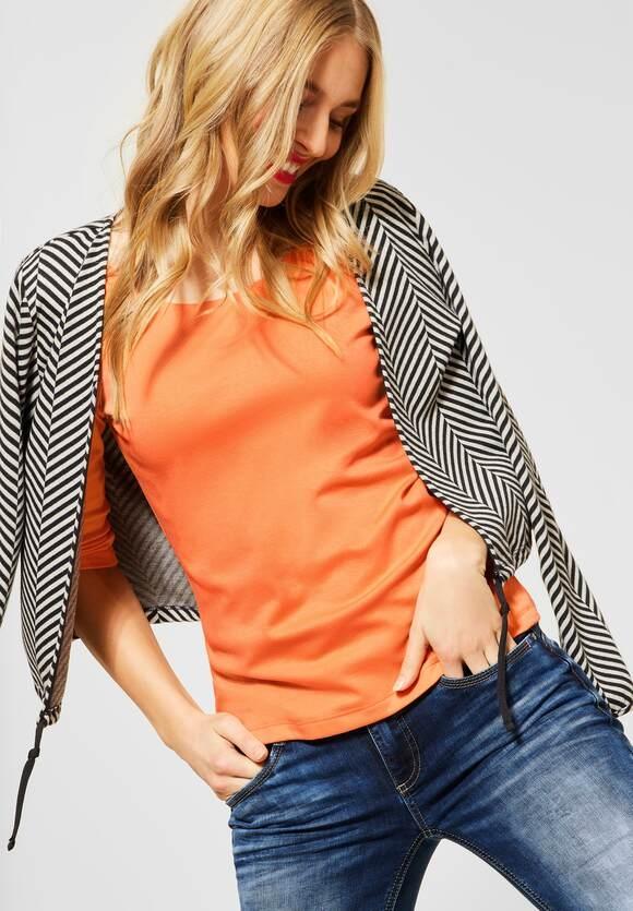 Street One I Basic Shirt Pania I Farbe: strong mandarine 12811, 313977