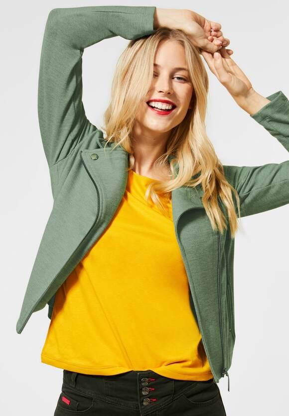 Street One   Biker Style-Jacke aus Jersey   Farbe: rich celadon 12568, 211256