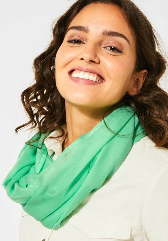 Cecil | Basic Loop in Unifarbe | Farbe: cool light mint green 12574, 571299