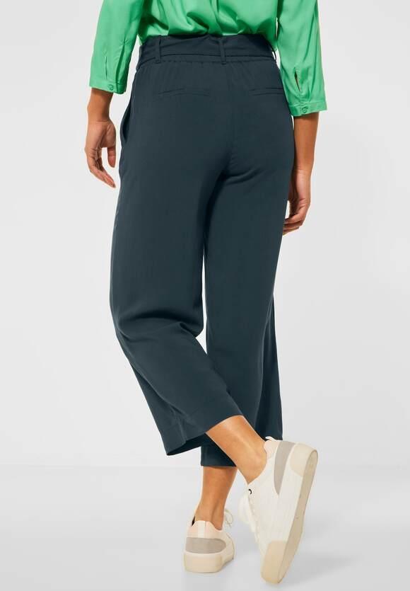"Street One | Wide Leg Hose ""Emee"" | Farbe: spruce green 13102, 374151"