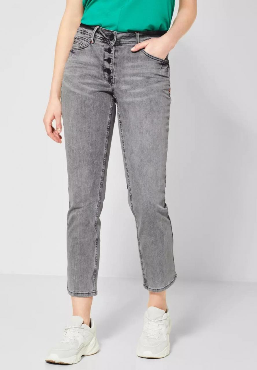 Cecil   Straight Leg Denim   Farbe: mid grey used wash 10271, 372923