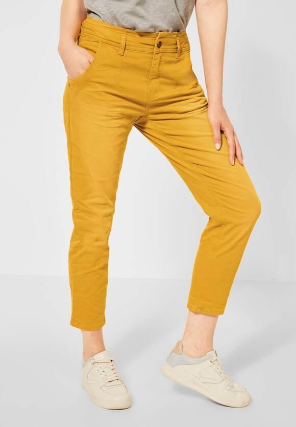 "Street One | Hose ""Bonny"" im Colour-Style | Farbe: sulphur yellow 13331, 374311"