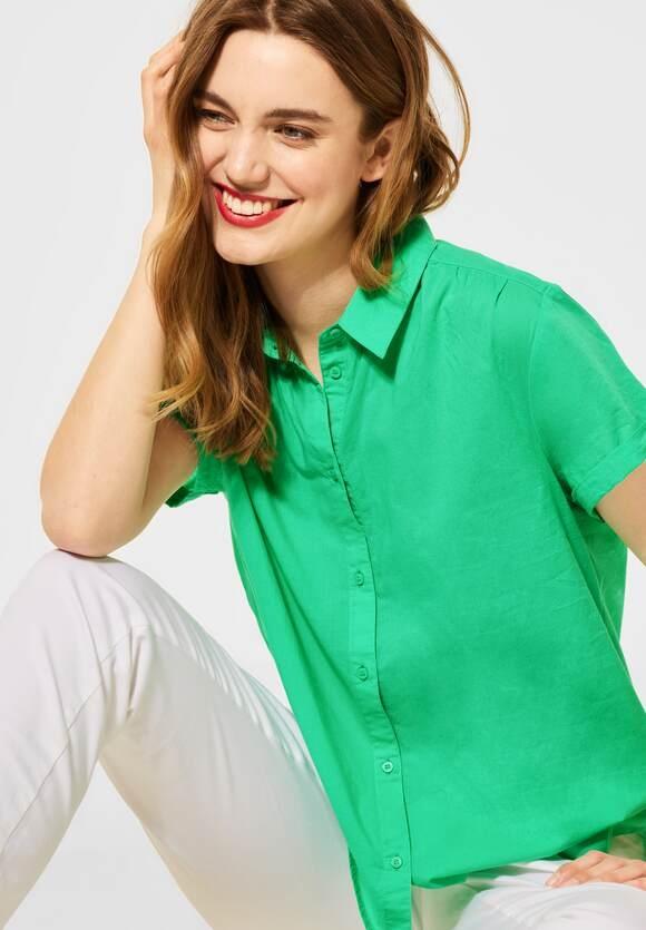 Street One   Bluse mit Hemdkragen   Farbe: yucca green 12982, 342613