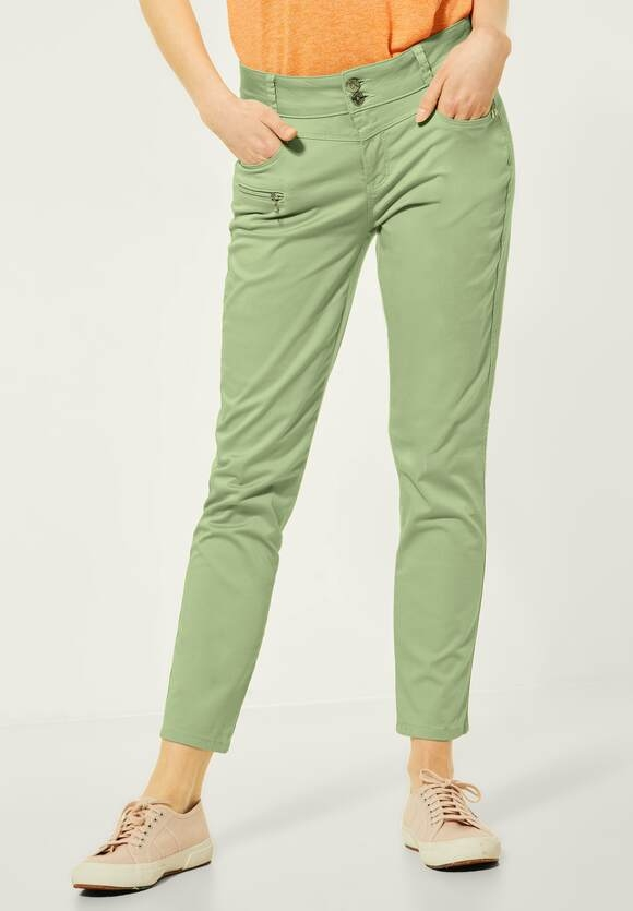 """Street One   Casual Fit Hose """"Yulius""""   Farbe: faded green 12902, 373929"""