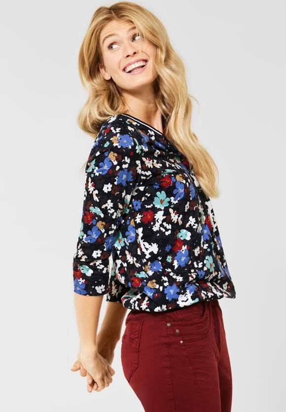 CECIL   Shirt im Tunika Style   Farbe: deep blue 30128, 316958