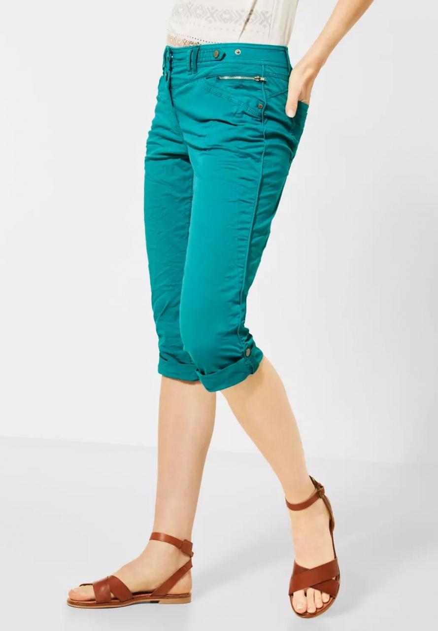 Cecil   3/4 Hose im Colour-Style   Farbe: vital emerald green 12291, 373013