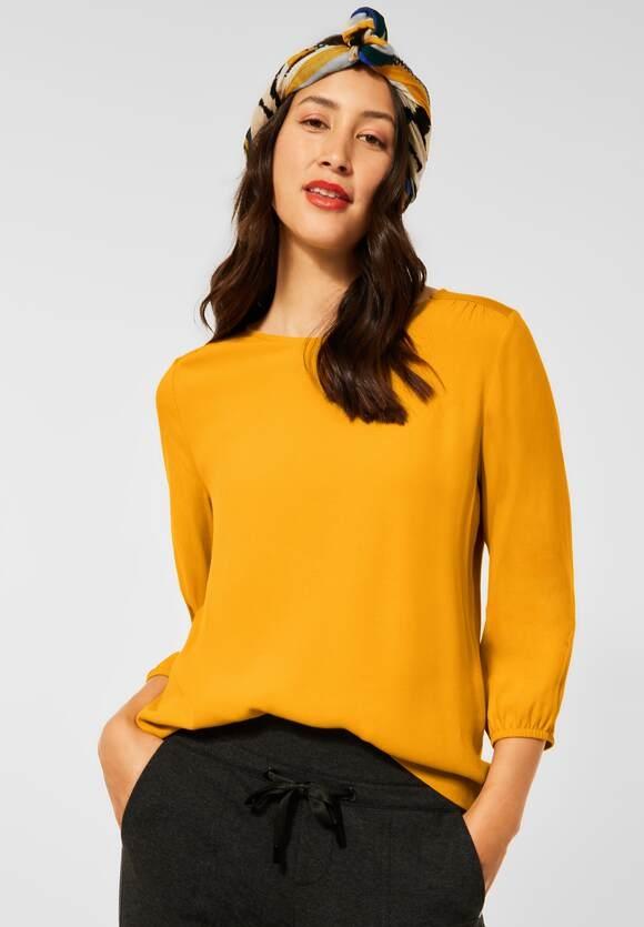 Street One   Shirt mit Puffärmeln   Farbe: sulphur yellow 13165, 316772