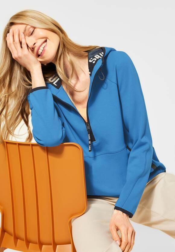 Cecil   Sweatshirt mit Kapuze   Farbe: provence blue 12865, 301527