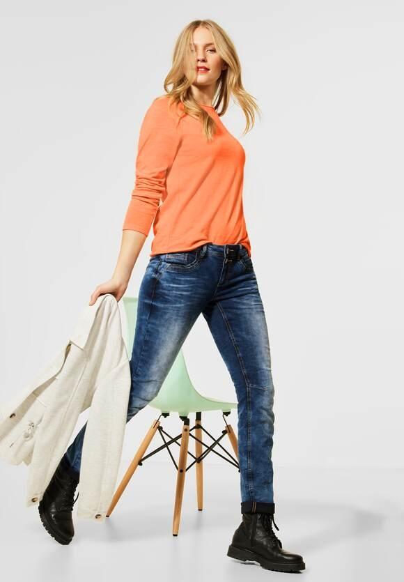 "Street One   Lässiges Raglan-Shirt ""Mina""  Farbe: strong mandarine 12811, 315810"