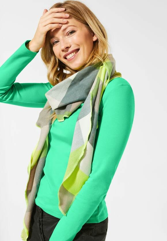 "Cecil   Basic Langarmshirt ""Pia""   Farbe: cool light mint green 12574, 315349"