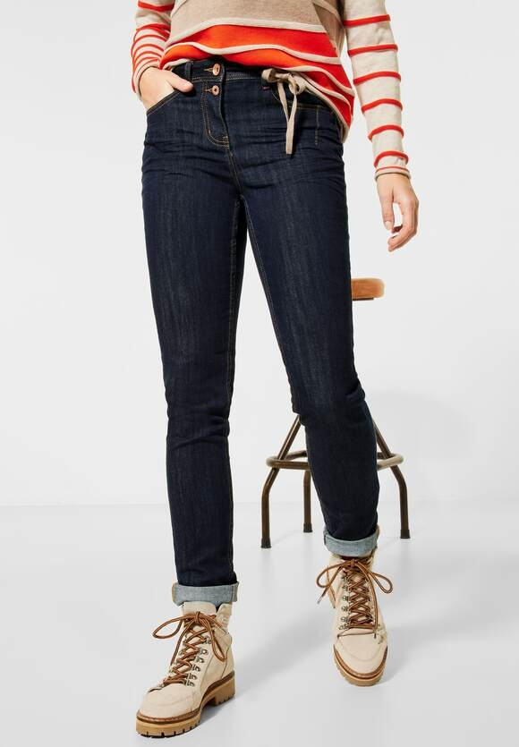 "Cecil | Straight Leg Denim ""Toronto"" 
