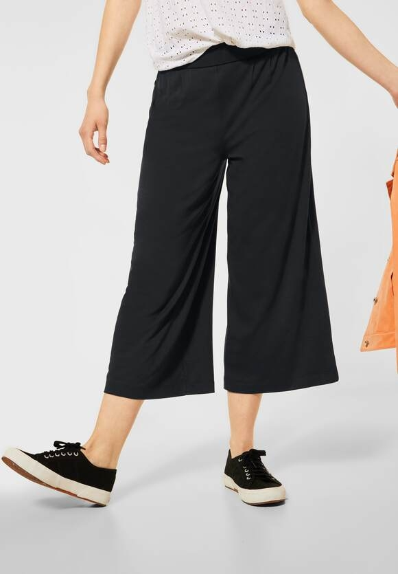 Street One | Loose Fit Hose mit Wide Legs | Farbe: neo grey 11017, 374061