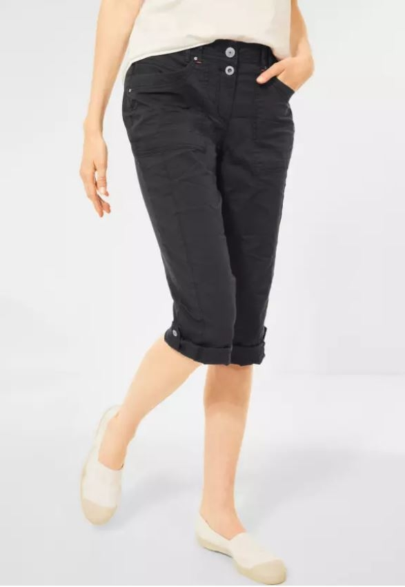Cecil   Casual Fit Hose in Inch 22   Farbe: carbon grey 12538, 374081