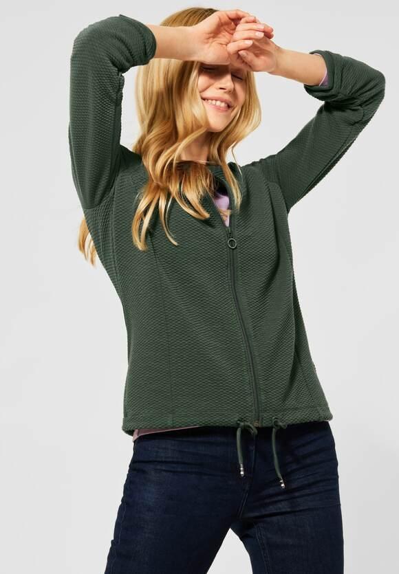 Cecil | Sportive Shirtjacke in Uni | Farbe: soft khaki 12646, 315865