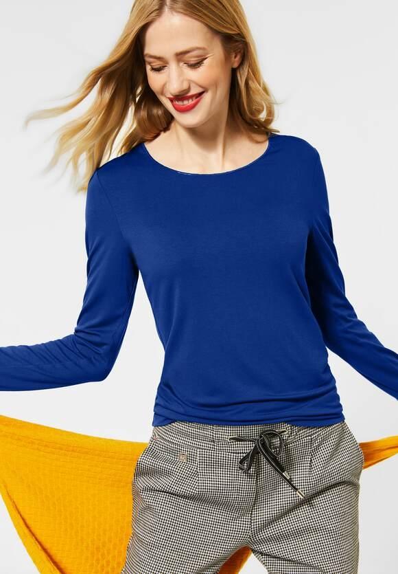 Street One | Shirt im Basic Style | Farbe: cobalt blue 11784, 315612