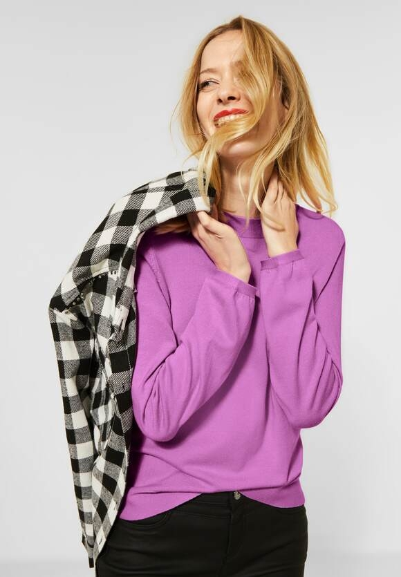 Street One   Pullover in Unifarbe   Farbe: sweet lilac 12535, 301450