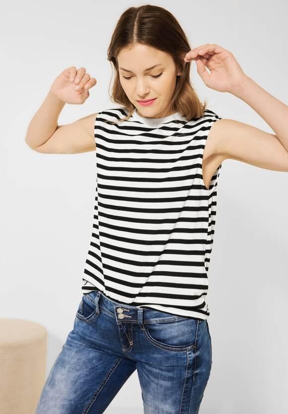 Street One   Shirt mit Schulterpolstern   Farbe: black 20001, 316604