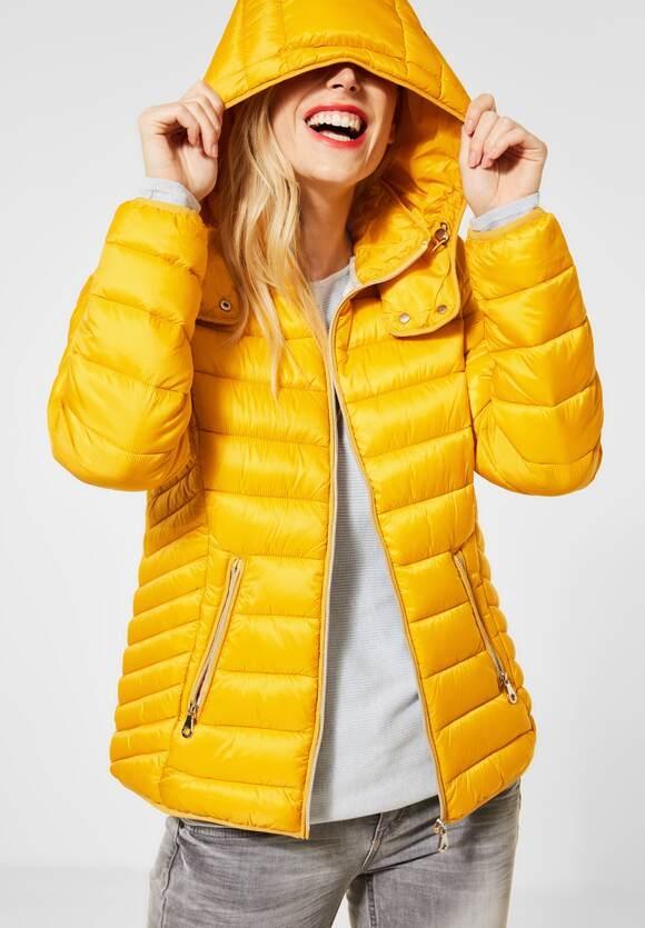 Street One | Wasserabweisende Jacke | Farbe: golden yellow 12336, 201528