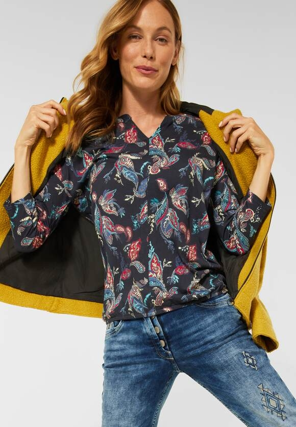 CECIL   Shirt im Tunika Style   Farbe: deep blue 30128, 316739