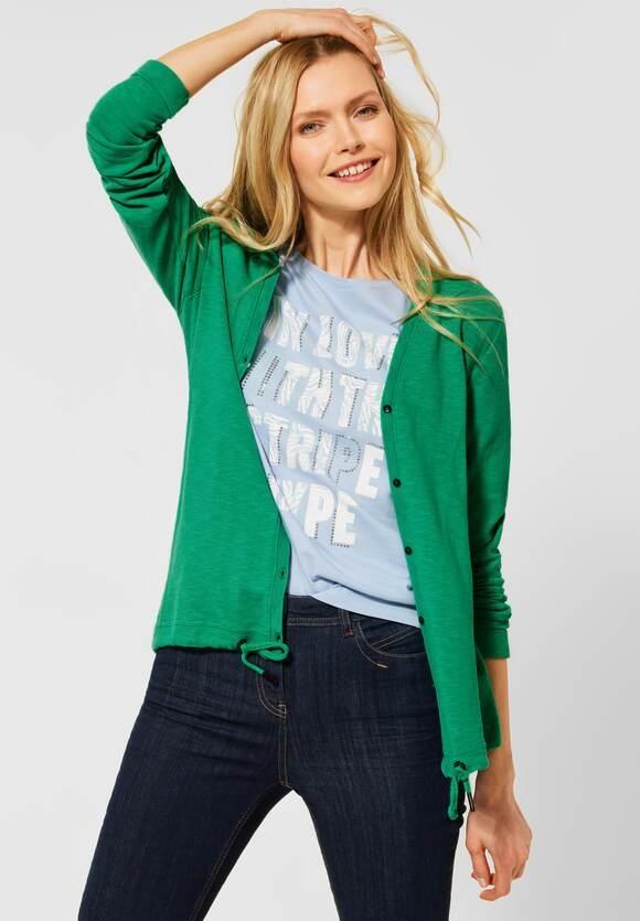 Cecil | Shirtjacke in Unifarbe | Farbe: spearmint green 12648, 315944