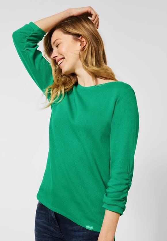 Cecil   Shirt mit Waffel-Struktur   Farbe: spearmint green 12648, 315946