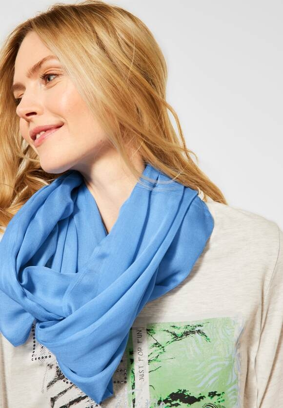 Cecil | Basic Loop in Unifarbe | Farbe: provence blue 12865, 571300