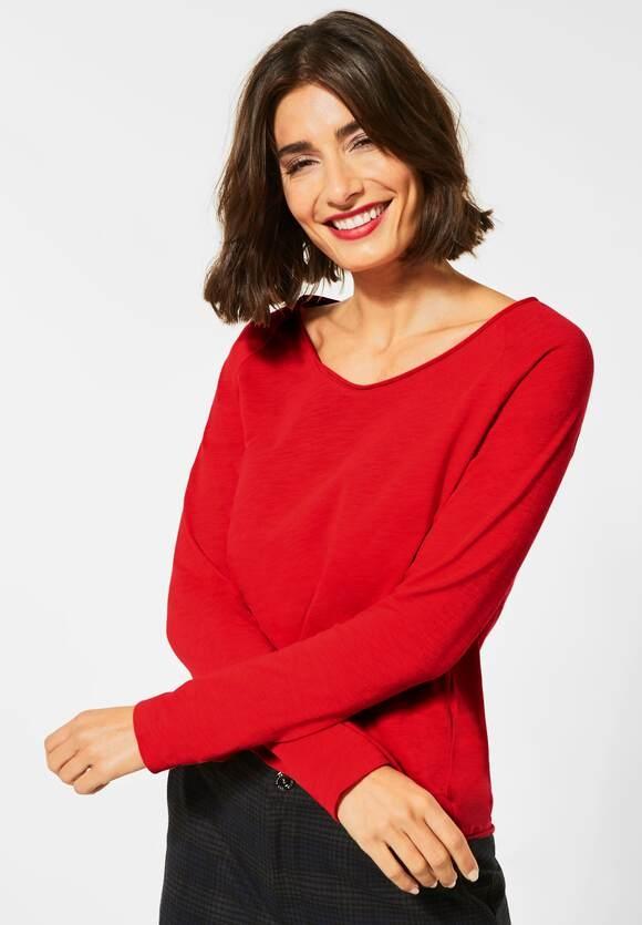 "Street One | Shirt ""Mina"" | Farbe: blazing red 12509, 315362"