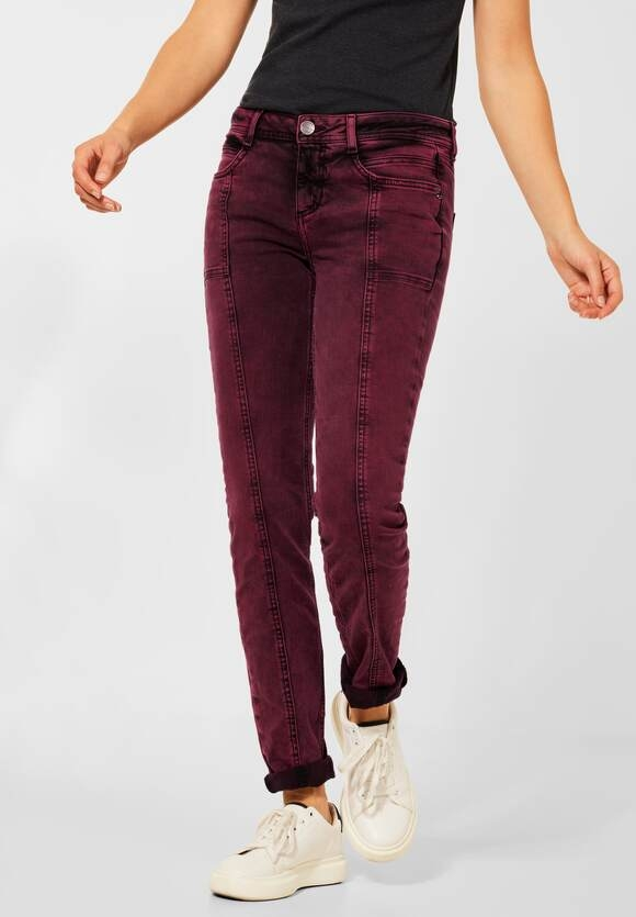 Street One   Casual Fit Denim   Farbe:heavy wash full red overdyed 13456, 374471