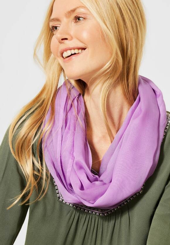 Cecil | Basic Loop in Unifarbe | Farbe: soft violet 12746, 571299