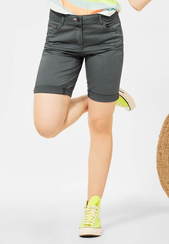 """Cecil   Loose Fit Shorts """"New York""""   Farbe: graphite light grey 10498, 374115"""